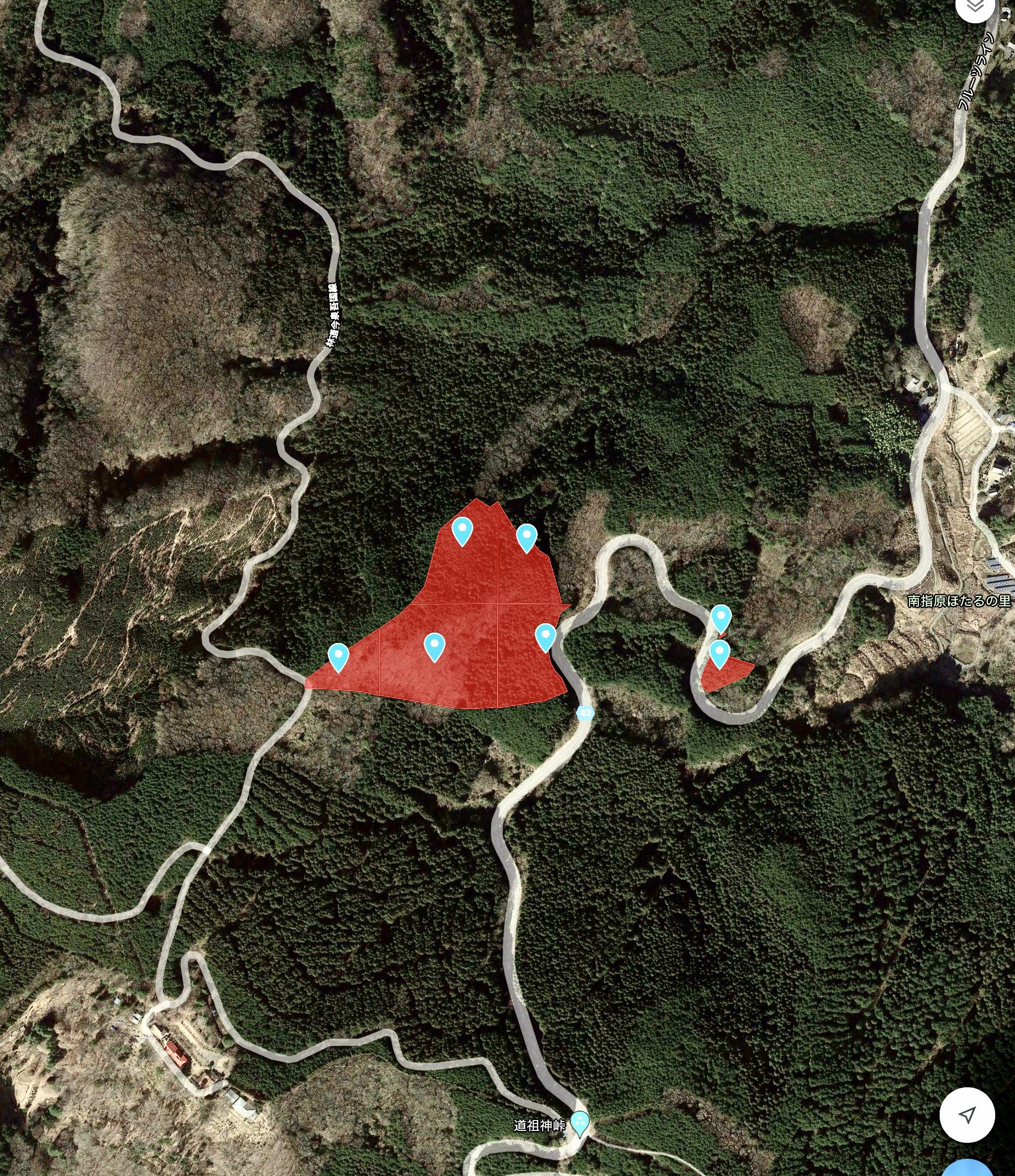 茨城県笠間市 実測2万坪 多用途向けの山林  490万円(特典付)